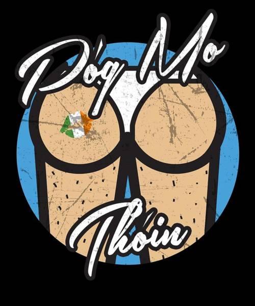 Wall Art - Digital Art - St Patricks Day Party Shirt Shamrock Beer Gift Idea Dark Light by Nikita Goel