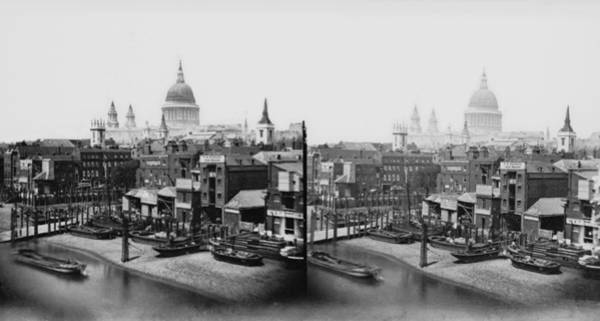 Warehouse Photograph - St Pauls Cathedral by London Stereoscopic Company