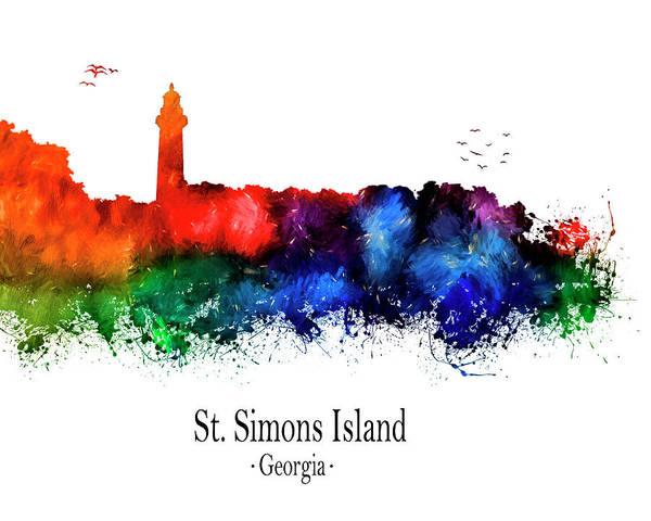 Big Island Digital Art - St. Simons Island by Tim Palmer