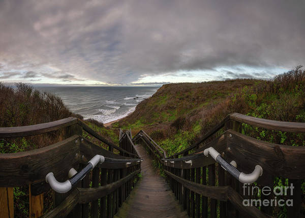 Photograph - Stairs To Bliss  by Michael Ver Sprill