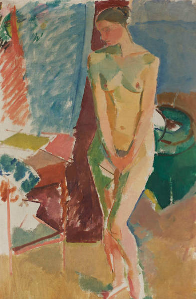 Painting - Standing Nude by Karl Isakson