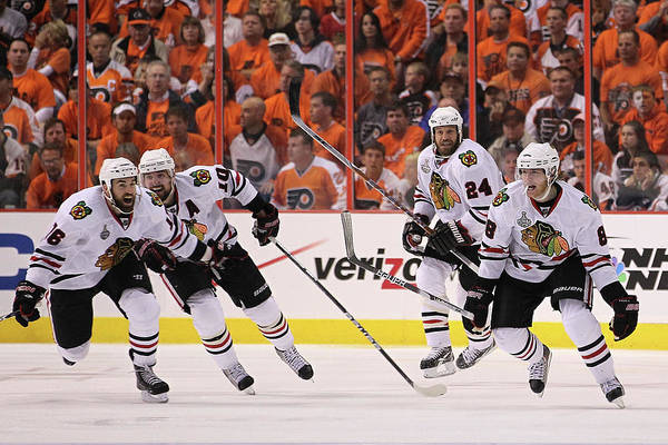 Ice Hockey Photograph - Stanley Cup Finals - Chicago Blackhawks by Bruce Bennett