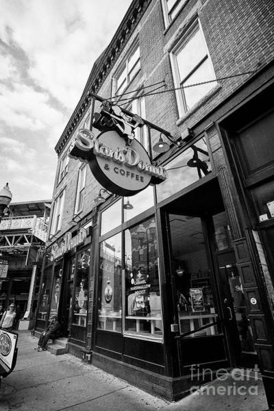 Wall Art - Photograph - stans donuts and coffee coffee shop on damen in wicker park Chicago IL USA by Joe Fox