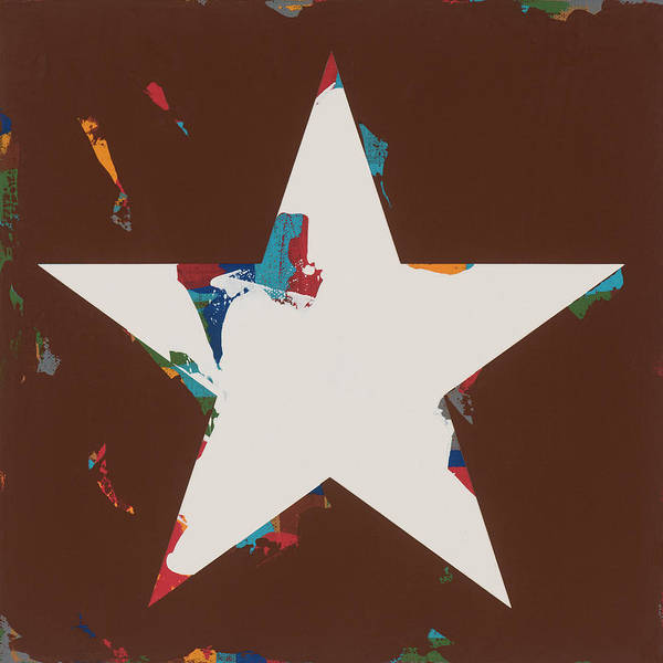 Wall Art - Painting - Star #29 by David Palmer