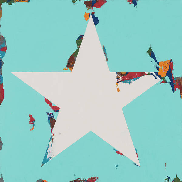 Wall Art - Painting - Star #8 by David Palmer