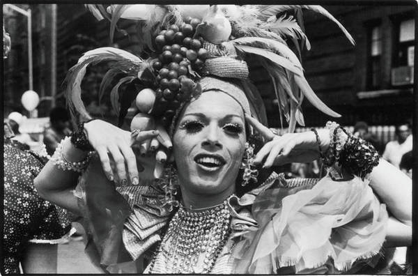 Photograph - Star At Gay Pride Day March, 1973 by Fred W. McDarrah