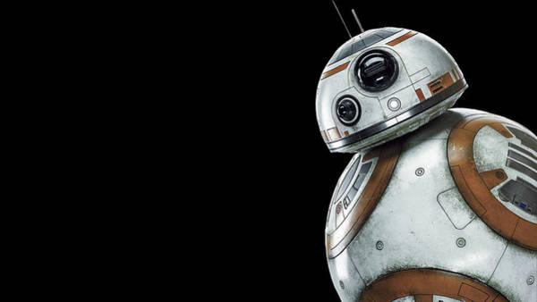 Star Wars Wall Art - Digital Art - Star Wars Bb-8 by Geek N Rock