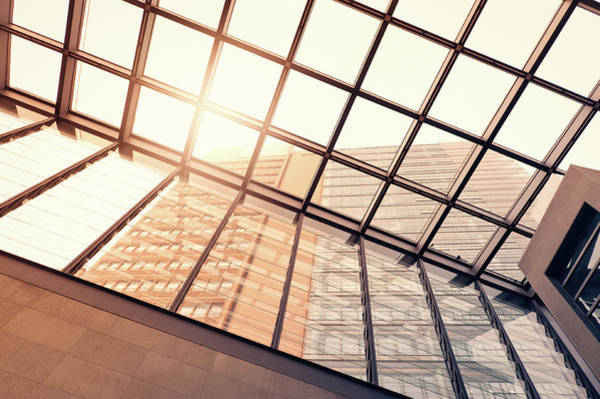 Photograph - Steel And Glass Building by Ppampicture