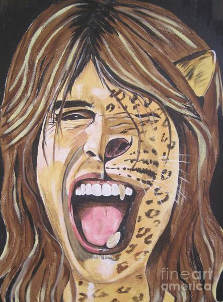 Wall Art - Painting - Steven Tyler Art by Jeepee Aero