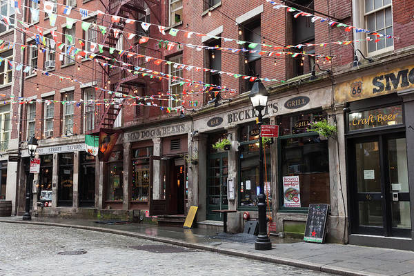 Cantina Photograph - Stone Street Restaurants by Erin Cadigan