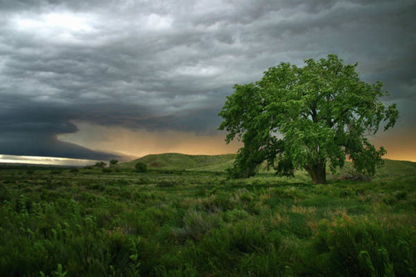 Storm Photograph - Storm Clouds Over Rural Landscape by Cultura Rm Exclusive/jason Persoff Stormdoctor