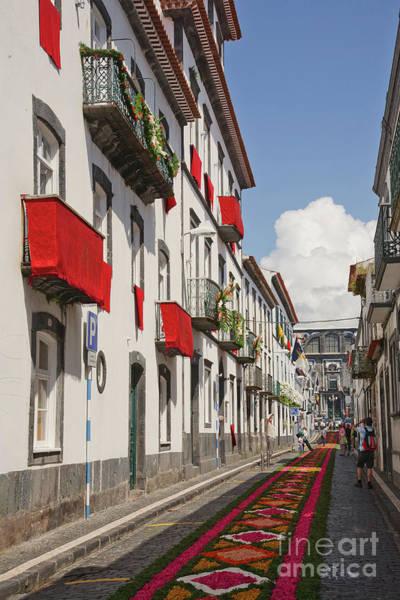 Wall Art - Photograph - Street In Ponta Delgada by Gaspar Avila