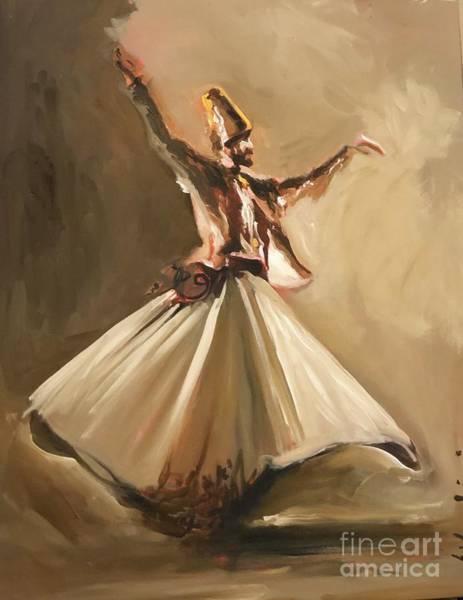 Painting - Sufi by Nizar MacNojia