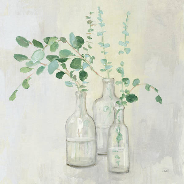 Wall Art - Painting - Summer Cuttings I by Julia Purinton