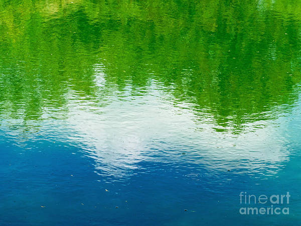 Wall Art - Photograph - Summer Reflections by Gary Richards