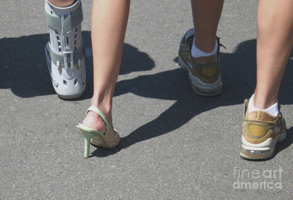 Photograph - Assorted Footwear by Ann Horn
