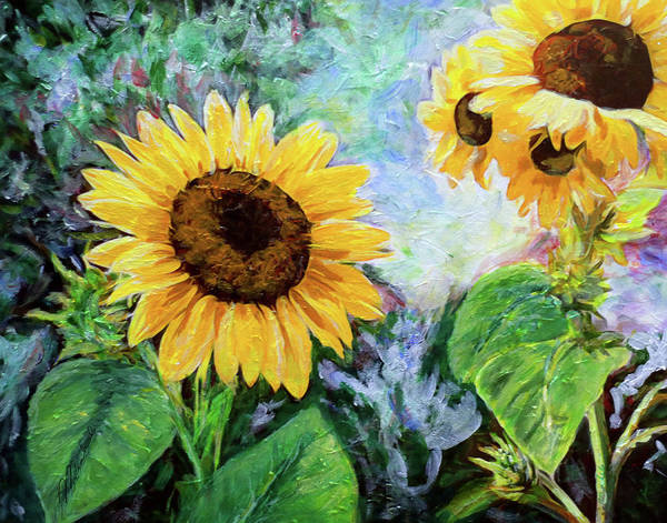 Painting - Sunflowers by Michele A Loftus