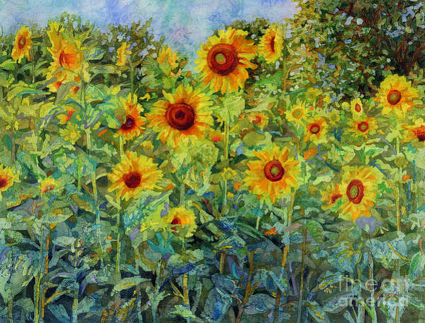 Blooming Wall Art - Painting - Sunny Sundance by Hailey E Herrera