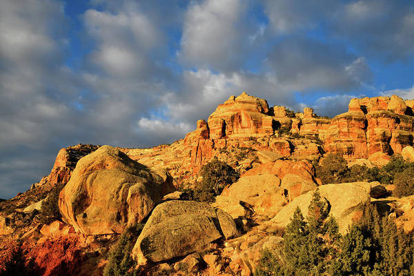 Photograph - Sunrise Clouds Over Colorado National Monument by Ray Mathis