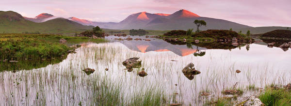 Moor Photograph - Sunrise On Rannoch Moor by Copyright