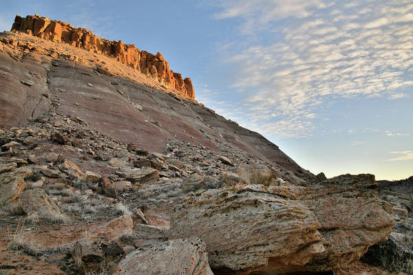 Photograph - Sunrise On Red Point In Grand Junction by Ray Mathis