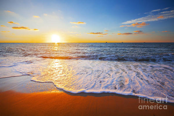 Atmosphere Wall Art - Photograph - Sunset And Sea by Ozerov Alexander