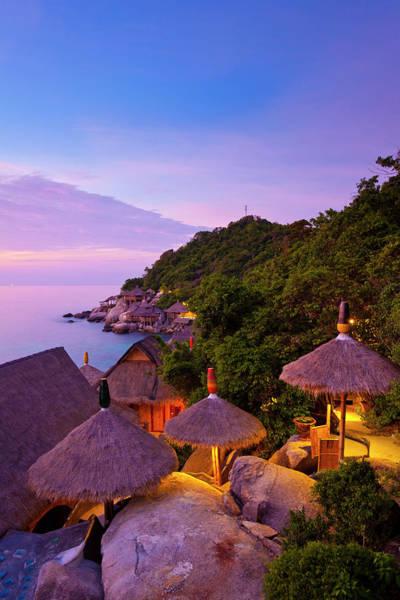 Koh Samui Photograph - Sunset At Koh Tao, Thailand by Holgs