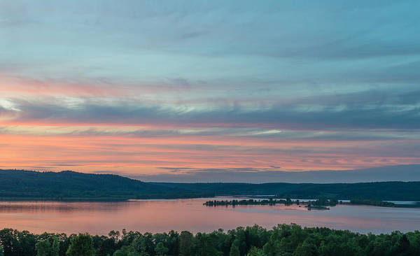 Wall Art - Photograph - Sunset In Canada by Michael Lustbader