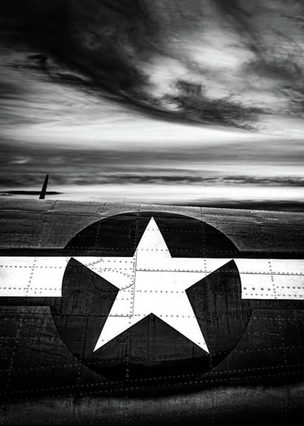 Wall Art - Photograph - Sunset North American B-25 Mitchell by Bob Orsillo