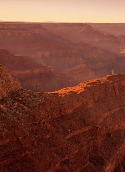 Photograph - Sunset Over Grand Canyon by Roland Shainidze Photogaphy