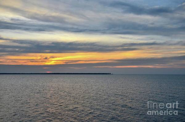 Photograph - Sunset Over Ocean At Fort Hammenhiel Jaffna Peninsula Northerm Sri Lanka  by Imran Ahmed