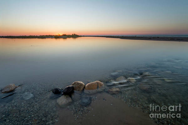 Wall Art - Photograph - Sunset Over Platte River  by Twenty Two North Photography