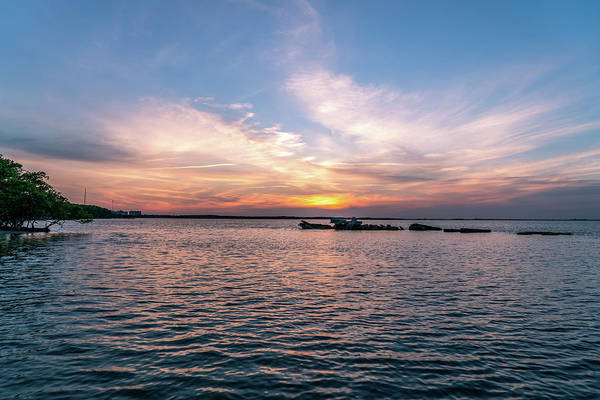 Sea Wall Art - Photograph - Sunset Over The Bay by Ric Schafer