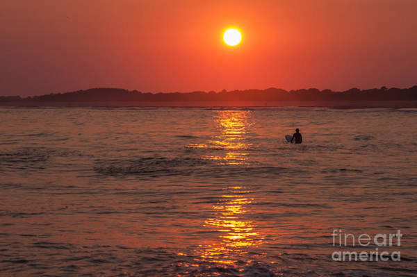 Photograph - Sunset Surfer by Anthony Sacco