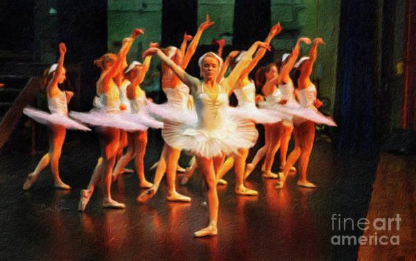 Photograph - Swan Lake Ballerina by Craig J Satterlee