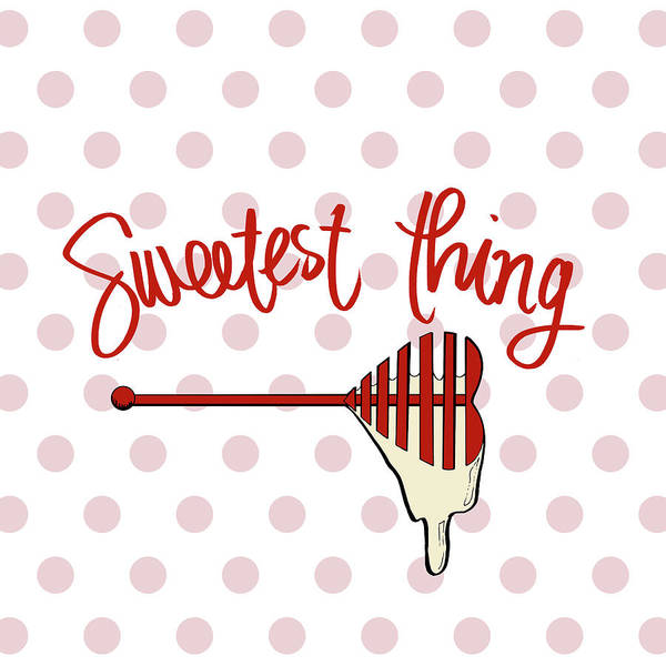 Wall Art - Mixed Media - Sweetest Thing by Sd Graphics Studio