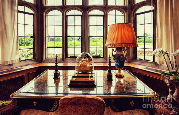 Photograph - table in Leeds Castle, Kent by Ariadna De Raadt