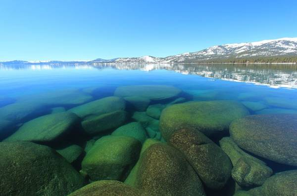 Photograph - Tahoe Glass by Sean Sarsfield