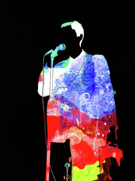Pop Mixed Media - Talking Heads Watercolor by Naxart Studio