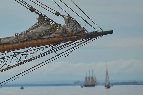 Pride Festival Photograph - Tall Ship Rigging by Paul Freidlund