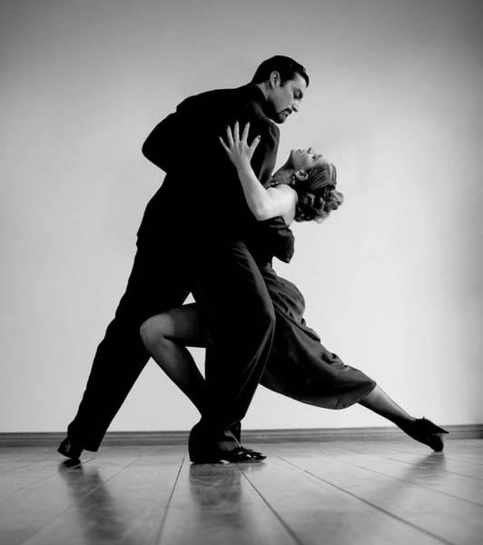 Goatee Photograph - Tango Dancers by David Sacks