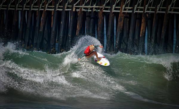 Photograph - Tatiana Weston-webb Surfer by Waterdancer
