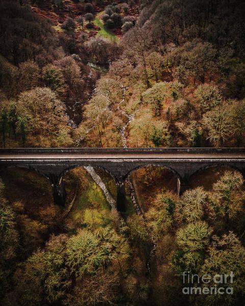 Photograph - Tavistock Viaduct  by Martin Bartnicki
