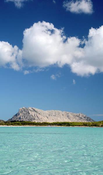 Wall Art - Photograph - Tavolara Island Viewed From Lu Impostu by Panoramic Images