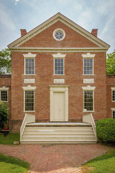Somerset County Photograph - Teackle Mansion, Mansion Street, Princess Anne, Maryland by Mark Summerfield