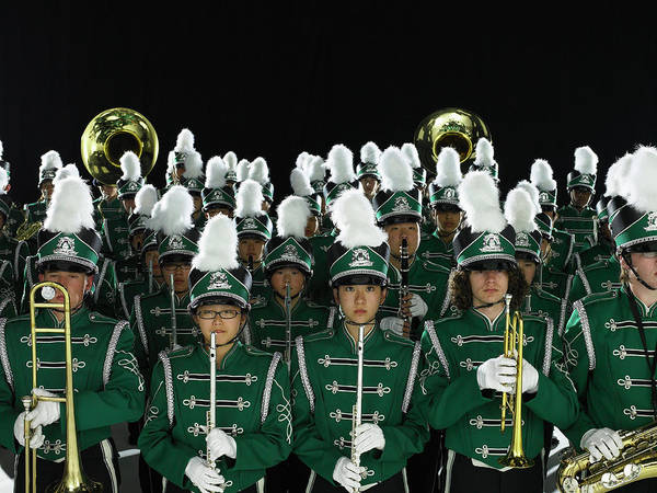 Wall Art - Photograph - Teenagers 14-18 In Marching Band by Ryan Mcvay