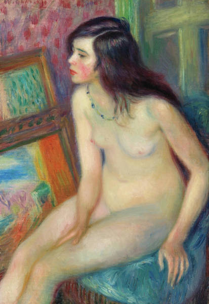 Wall Art - Painting - Temple Gold Medal Nude, 1924 by William Glackens