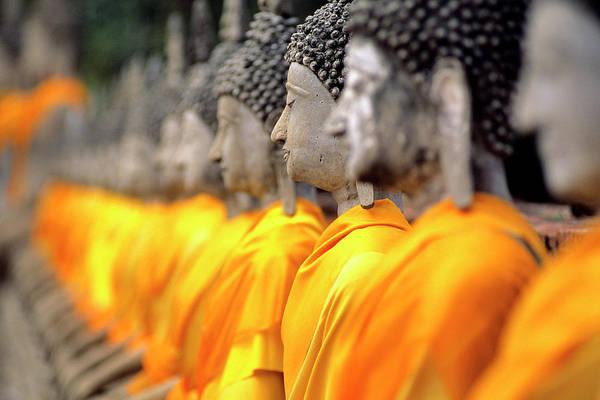 Wall Art - Photograph - Thailand, Phra Nakhon Si Ayutthaya by Lemaire Stéphane / Hemis.fr