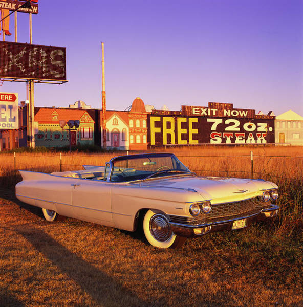 Sport Car Photograph - The 1960 Cadillac Series 62 Convertable by Car Culture