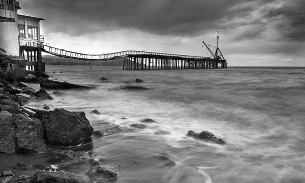 Wall Art - Photograph - The Abandoned Pier by Michalakis Ppalis